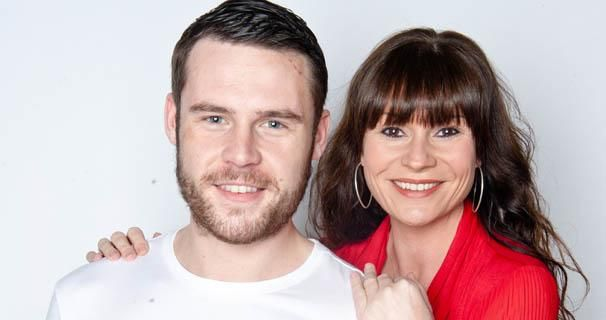 Danny Miller (Aaron Livesy) & Lucy Pargeter (Chas DIngle)