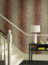 Leopard Print Wallpaper Goes Great In An African Theme And Can Be Very  Sophisticated Or Lots Of Fun. Leopard Wallpaper Is A Must Have To Give Any  Room An ...