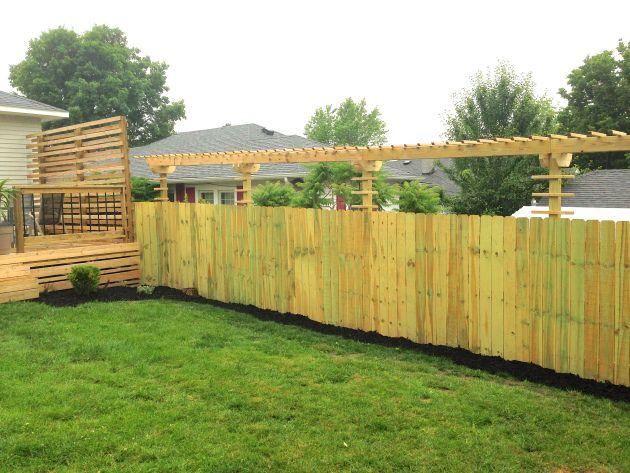 8 best railrows walls.. images on Pinterest | Backyard ideas, Garden ...
