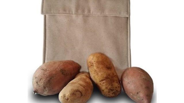 100% Cotton Microwave Potato Bag