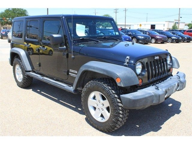2013 JEEP WRANGLER UNLIMITED SPORT at Pollard Pre-Owned in Lubbock Texas!