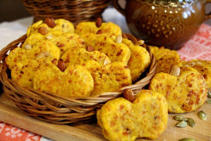 Пряное тыквенное печенье