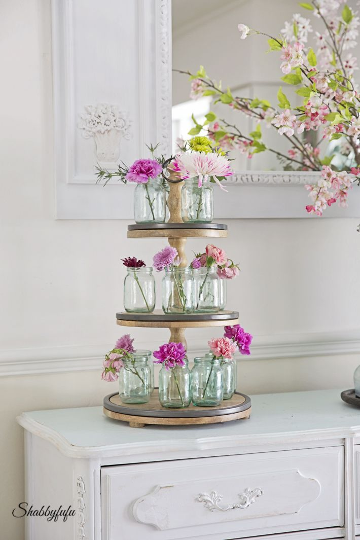 How To Style A Tiered Stand Flower Arrangement Designs