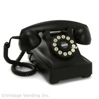 #Retro Crosley 302 Desk #Phone - Black  http://www.retroplanet.com/PROD/23917