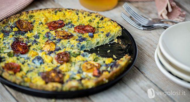 La ricetta del clafoutis vegano salato con cavolfiori e pomodorini è una ricetta originale e molto facile da preparare. Potete realizzarla con le verdure...