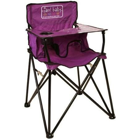 ciao  baby HB2012 - Portable High Chair - Purple - Walmart.com