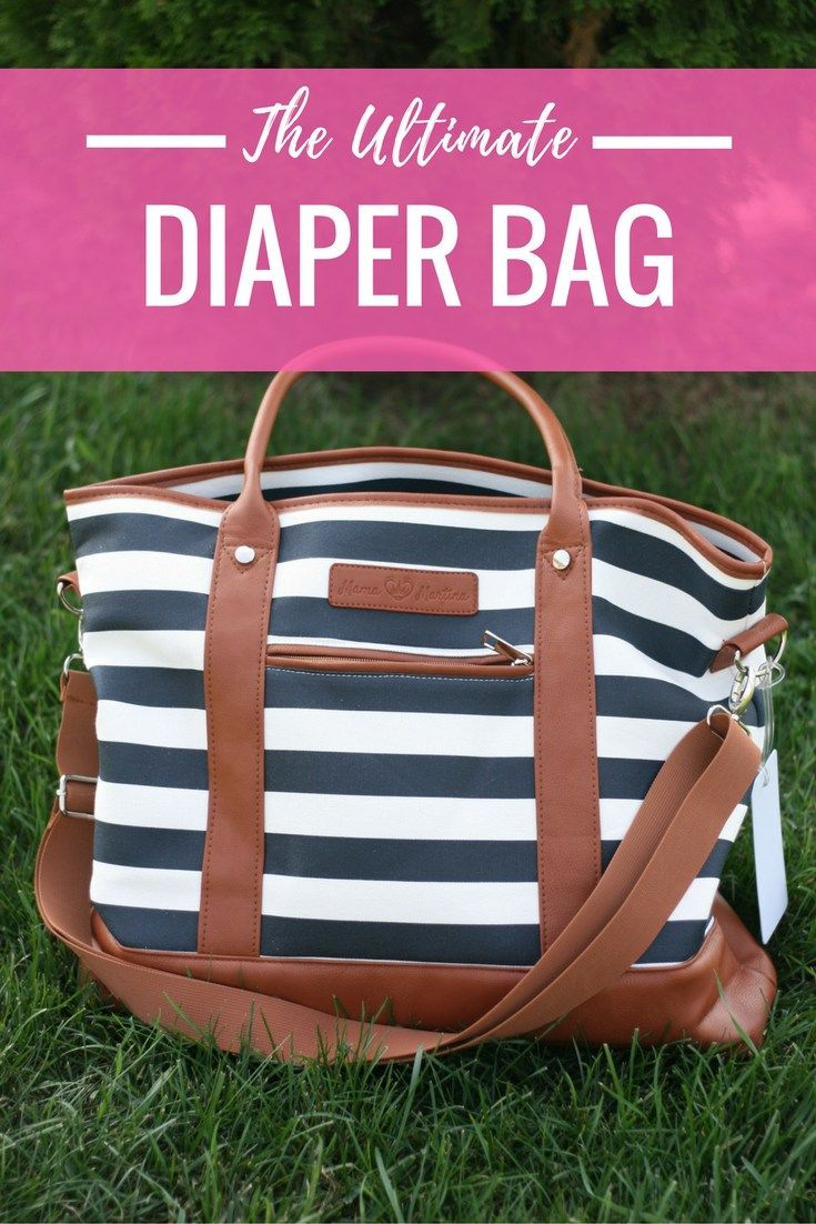 The Ultimate Diaper Bag | Mama Martina | Mom Purse | Mom Tote | The Best Diaper Bag
