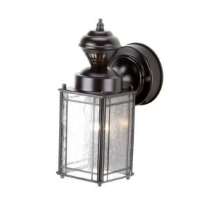 Heath Zenith, Shaker Cove Mission 150-Degree Outdoor Oiled Rubbed Bronze Motion-Sensing Lantern, SL-4133-OR at The Home Depot - Mobile