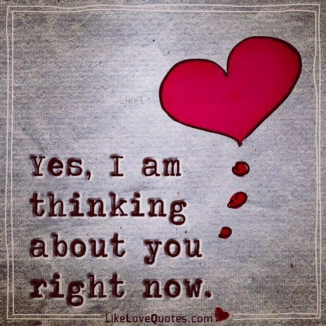 3 ))) Yes I am thinking about you right now V^V <3 V^V