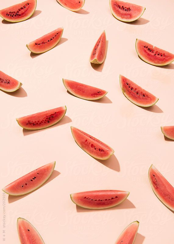 Watermelon pattern by W + M #stocksy #realstock