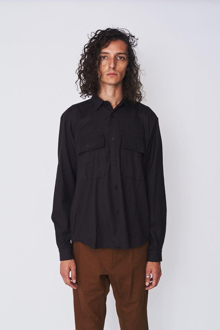 Fleece Poet Shirt