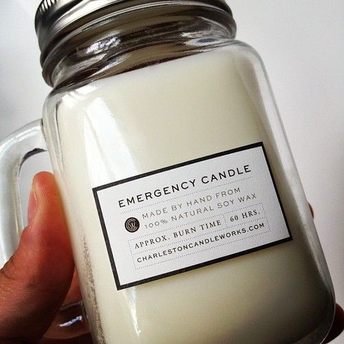 I like the handle for the energy candle! Must do!