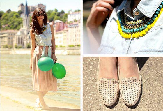 Balloons (by Céline Cavaillero) http://lookbook.nu/look/3667445-Balloons