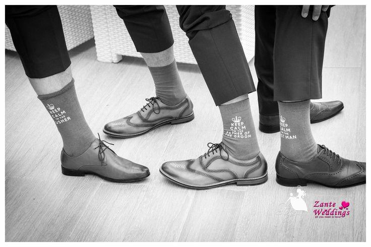 The best groomsmen's socks!