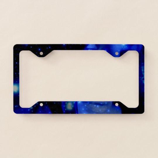 Car license plate frame#blue#black#star#space#sky#night#bmw#porche#ferrari#mercedes#jeep#landrover#çool#present#gift#thin#