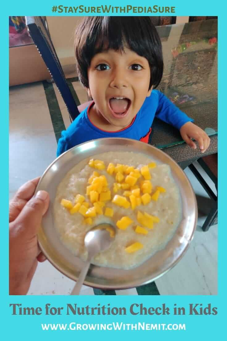Its time to check nutrition in indian kids for their