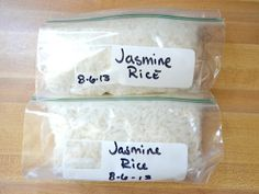 How to: Freeze Rice | That's where a having a freezer stash of cooked rice comes in handy. Frozen cooked rice reheats quickly in the microwave and makes getting dinner on the table (or just into your belly) twice as fast. Plus, if you live alone and often want just one serving of rice at a time, this trick solves that problem. Use your frozen rice for a quick stir fry or fried rice, to soak up the sauce from a yummy stew, or as a bed for some beans, salsa, and cheese. | From: budgetbytes.com