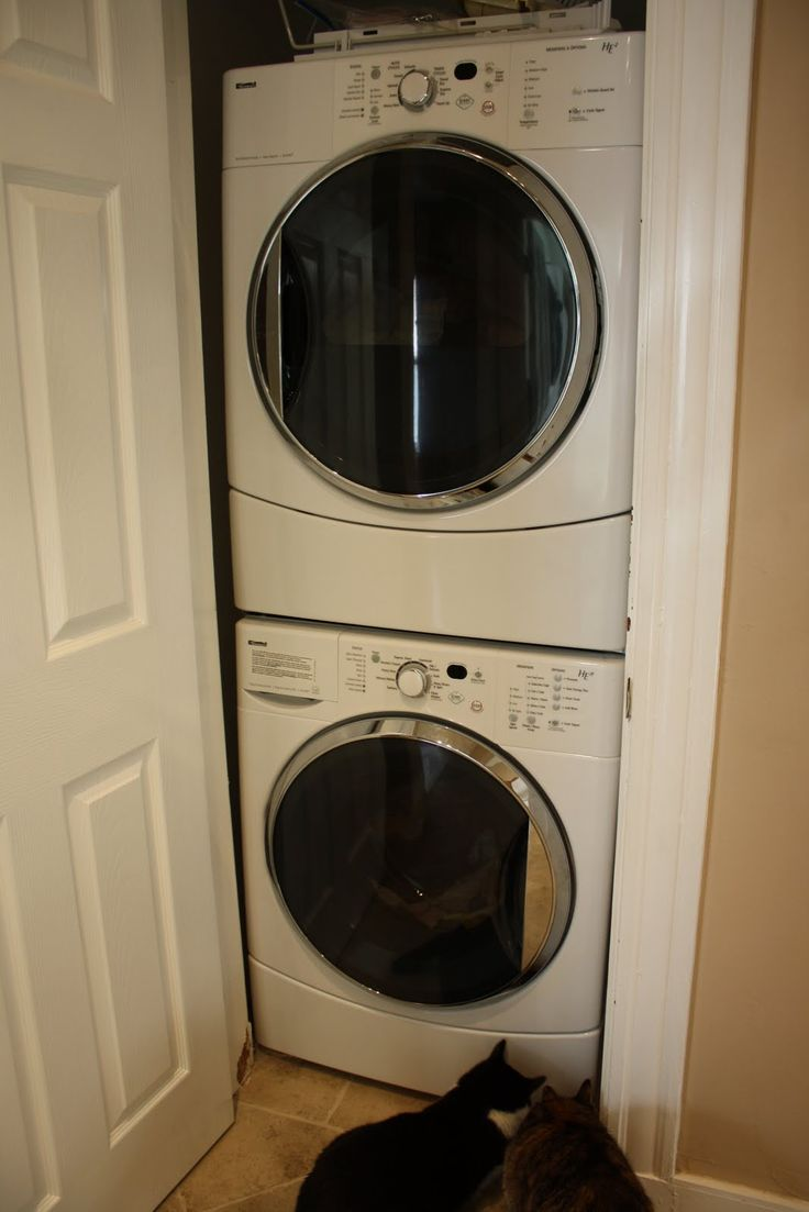 Laundry Room Design Stackable