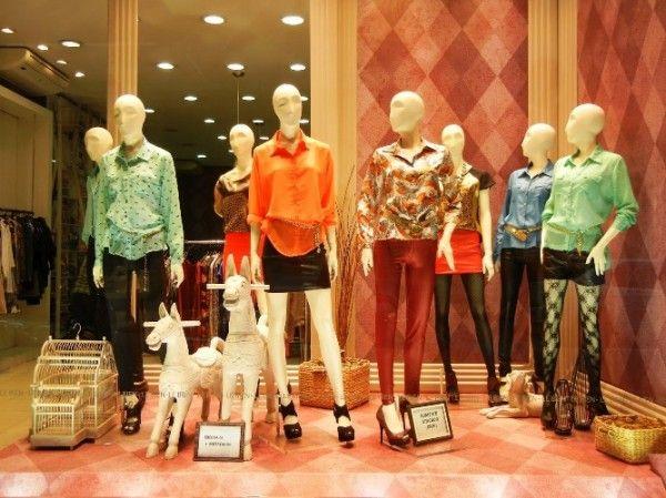 A vitrine precisa ser capaz de seduzir o consumidor com a exposição dos produtos. (Foto: Divulgação)