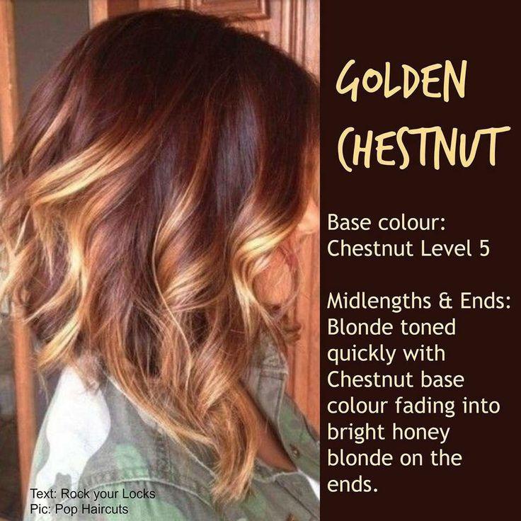Warm Hair colours