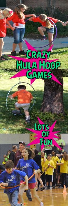 7 FUN HULA HOOP GAMES!!!! These games are really easy to play and and the kids love them! Perfect for Church, VBS, PE, or kids birthday parties.