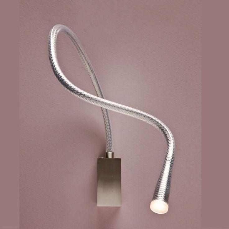 FLEXILED - Applique/liseuse Acier 90 | Applique Contardi designé par King & Roselli | LightOnline