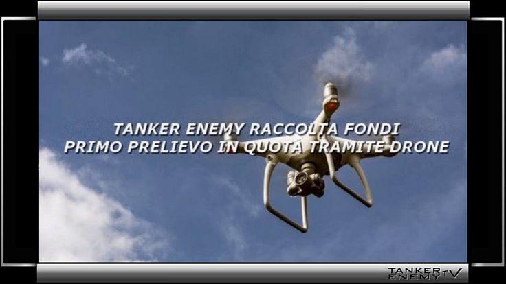 Tanker enemy   Prelievo in quota per mezzo di drone