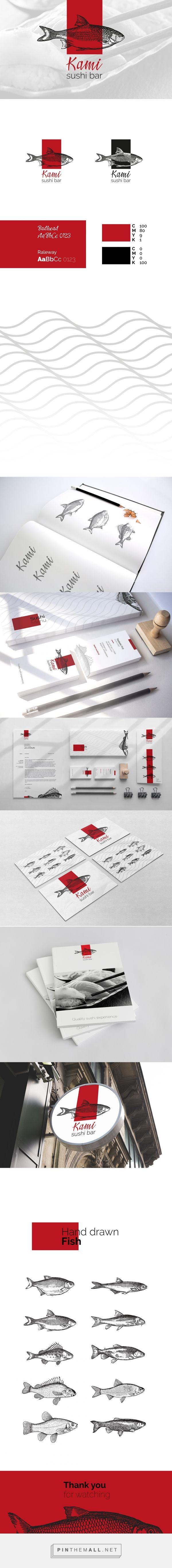 Identity / Kami Sushi Bar Branding