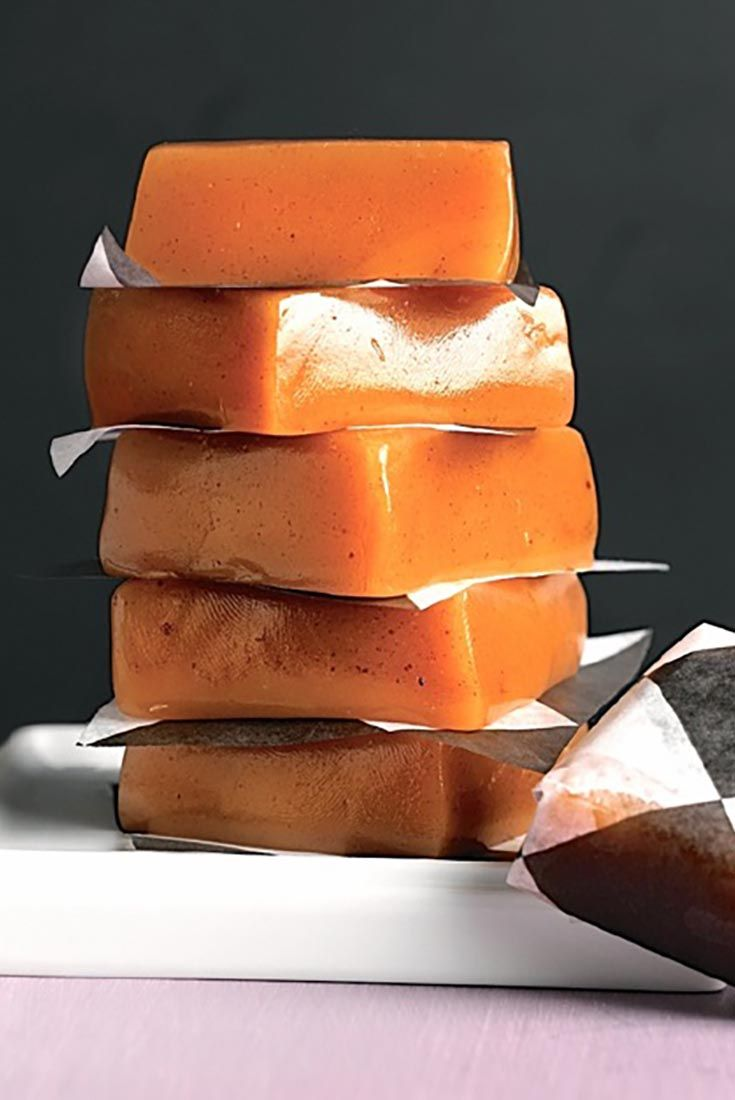 Apple Cider Caramels | Recipe | Apple cider, Caramel recipes and ...