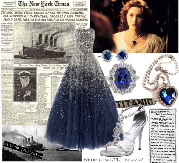 """""""Heart of the Ocean"""" by heymaryani on Polyvore"""