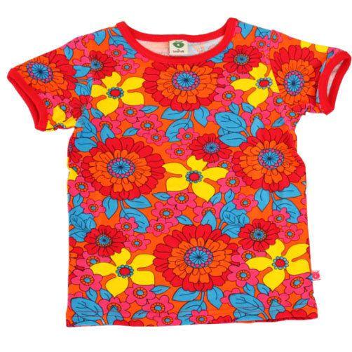 Smafolk T-shirt 'Bloemen' - De Oude Speelkamer