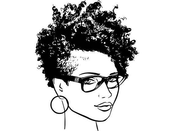 afro woman svg princess queen short