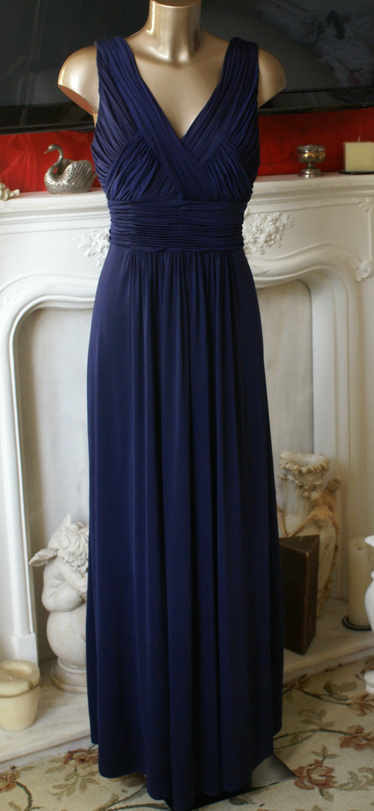 61 best bridesmaid dresses just dee images on pinterest black john lewis dress midnight blue grecian maxi long evening gown pre owned designer ombrellifo Image collections