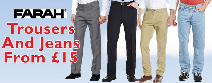 Farah Trousers From £15