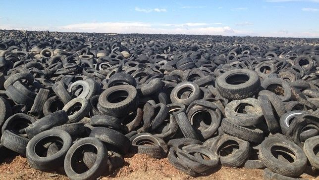 America's tire mountains: 90 percent are gone, thanks to recycling programs | MNN - Mother Nature Network