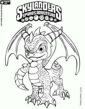 17 best Skylanders images on Pinterest | Skylanders, Kids coloring ...