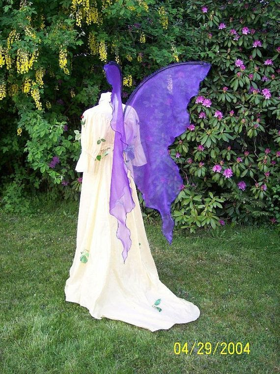 Hey, I found this really awesome Etsy listing at https://www.etsy.com/listing/250347082/huge-moonbeam-blue-purple-fairy-wings