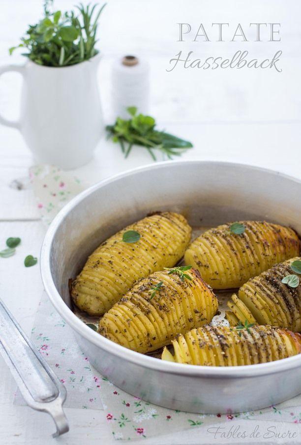 Patate hasselback al forno