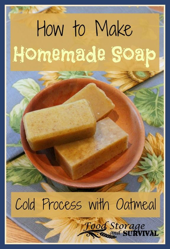 How to make cold process soap at home! Easy and so fun!