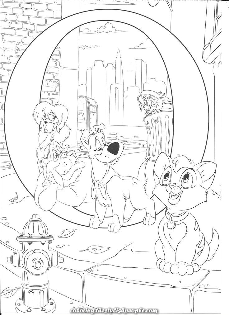 Incredible O For Oliver Abc Coloring Pages Disney Princess Coloring Pages Disney Coloring Pages