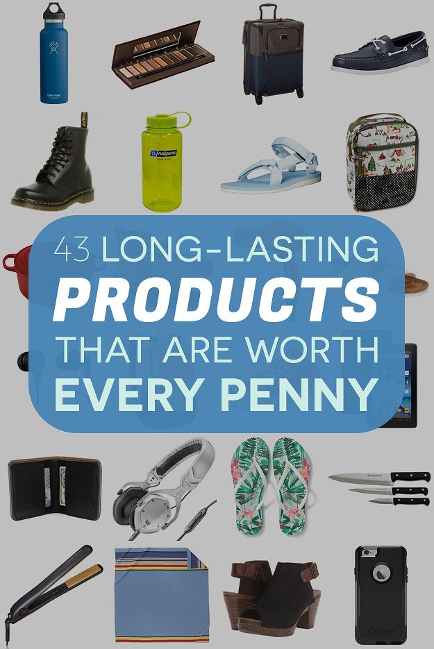 43 Long-Lasting Products That Are Worth Every Penny