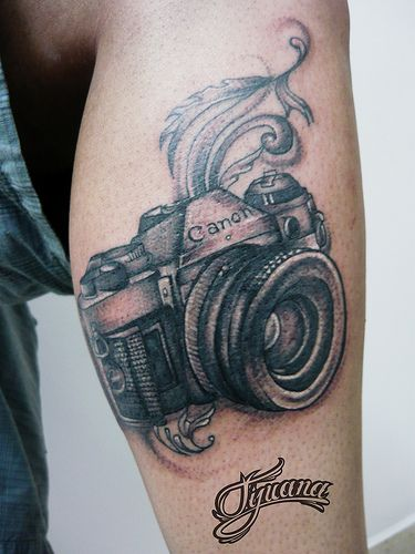 another camera tattoo