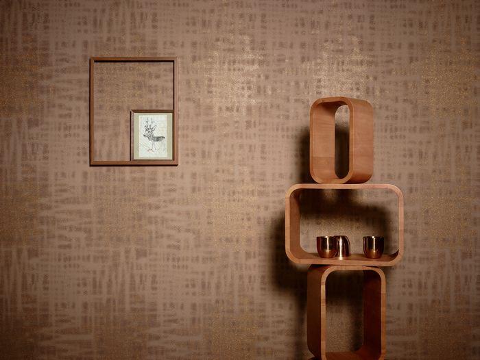 In Sich Gemustert Und Mit Schimmer Wird Diese Tapete Zum Highlight Ihrem Schlafzimmer