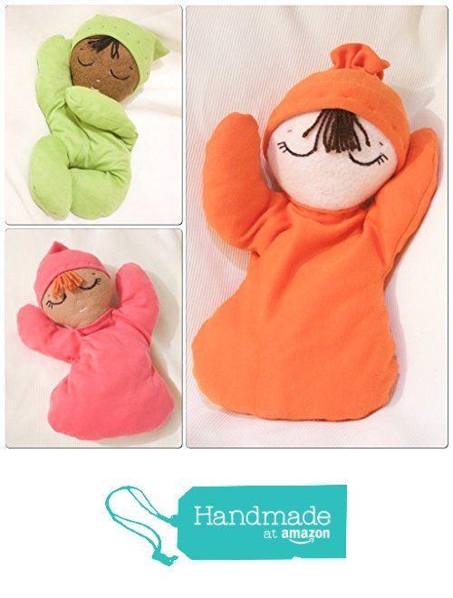 Custom made 13 inch wool blend felt and soft fabric baby handmade rag doll from La Chulona Handmade Dolls http://www.amazon.com/dp/B01EIDQ1HA/ref=hnd_sw_r_pi_dp_tSUuxb1F11FG0 #handmadeatamazon