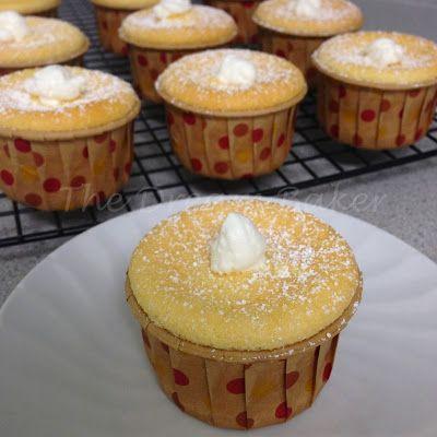 Mini Hokkaido Chiffon Cupcakes