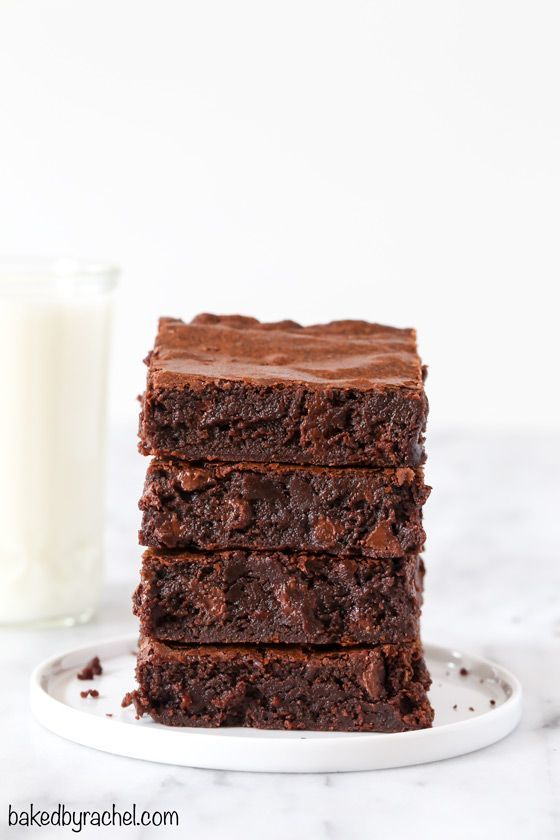 One-Bowl Fudgy Brownies
