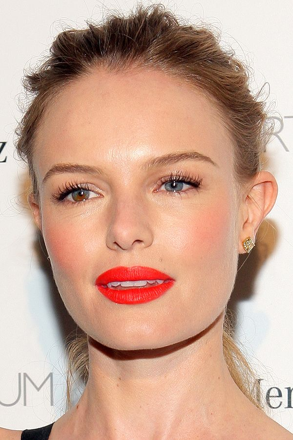 Kate Bosworth at Art of Elysium Heaven Gala 2014 wearing MAC Lady Danger