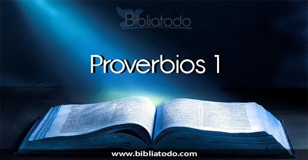 Los proverbios[1] de Shlomó[2] el hijo de David, rey de Yisra'el,  son para aprender sabiduría e instrucción; para entender palabras que…