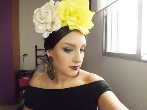 Peinado de FLAMENCA - FERIA DE ABRIL - YouTube