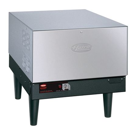 The Hatco Compact Electric Booster Water Heater (C Series) provides all the 180°F (82°C) final rinse water required to sanitize and flash-dry dishes and flatware.